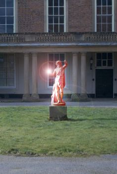 Glowing Statue by Atticus-Boo