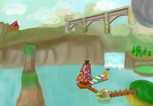 Great Bridge of Hylia by The-Fox-Experiment