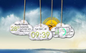 Cloud Tags Pack for XWidget by boyzonet