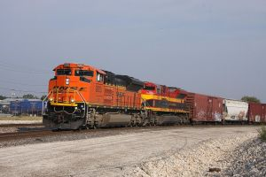 BNSF Freight by 3window34