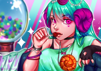 Candy by monoChromacat