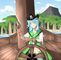 A request from cheddar99043 : Ashera the pirate ! by amini101
