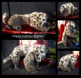 Original Eusmilus Sicarius Art Doll by WormsandBones
