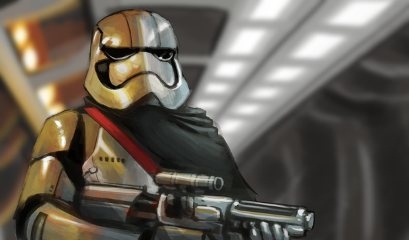 Captain Phasma - Color Study by Teutron