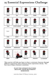 25 Essential Expressions by TheEvilGenius