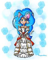 Felicia in Eirika bride attire by ninpeachlover