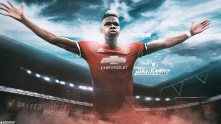 Manchester is red wallpaper ( 2017/2018) by OmarBedewyGFX