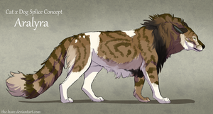 Headworlds Splice Concept CatxDog: Aralya by The-Hare