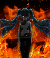 [MMD] It Will Rain Fire by o0Glub0o