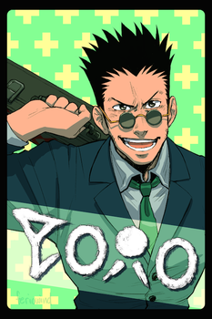 Leorio Paladiknight by FerioWind