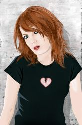 Shirley Manson of Garbage by budcali