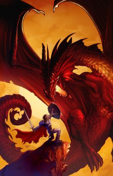 Dungeons and Dragons cover 0 by PaulRenaud