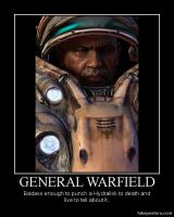 Starcraft 2 General Warfield by Onikage108