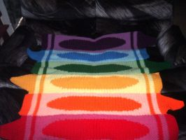 Crayon Afghan by NanetteCrochet