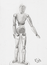 Anatomy doll sketch by SulaimanDoodle