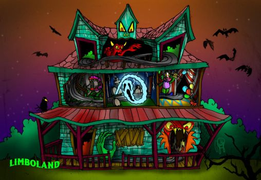 Limboland House of Terror Ride by jimsoler