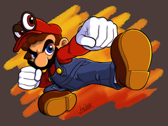 Ultimate Mario by The-Quill-Warrior