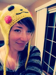 Girl in the Pika Hat by DaniDaydreams