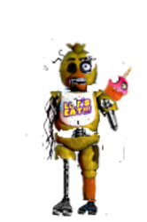 Old FNAF 1 Chica  by chicafan17