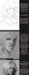 Grayscale Coloring and Painting: How I Draw by GRAVEWEAVER