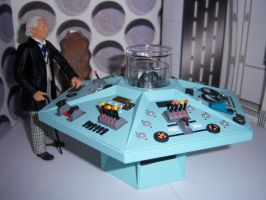 First Doctor Control Room III by MisterBill82