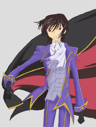 Lelouch vi Britania by aoromore