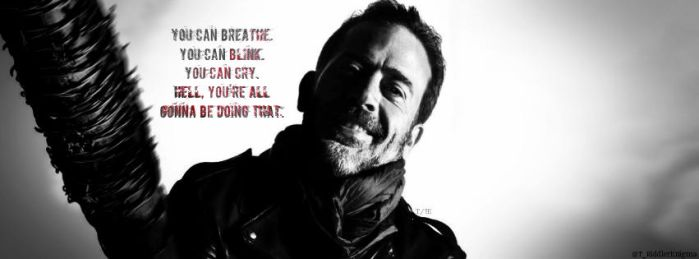 The Walking Dead   Negan by TheRiddlerEnigma