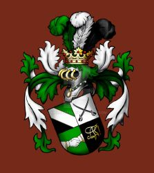 Akademische Fechterschaft Coat of Arms by Meredyth