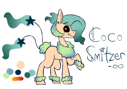 CoCo Smitzer Ref Sheet by Willow-Wingchester