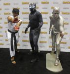 Ryu, Black Panther and Silver Surfer by R-Legend