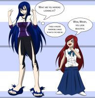 Wendy and Erza Age Swap by TFSubmissions