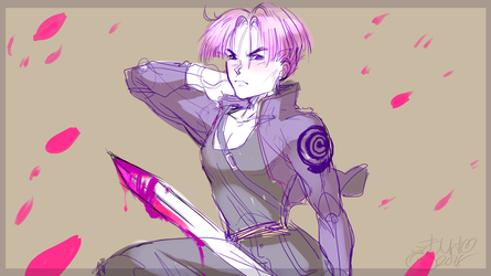 trunks doodle cause why not by Memori-P