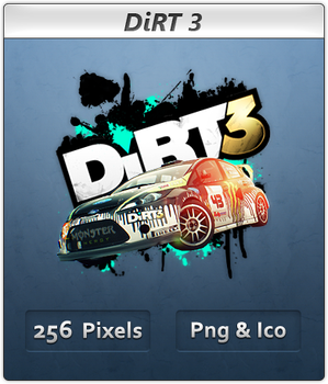 DiRT 3 - Icon by Crussong