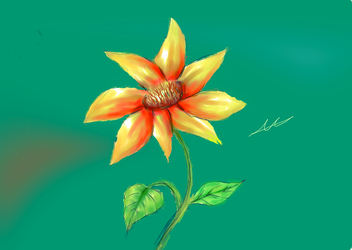 Flower Sketch by xXEuterpexX