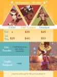 Commission Prices and TOS - 2017 edition! by oddthesungod