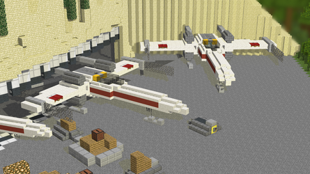 X-Wings on Yavin IV by Adri526