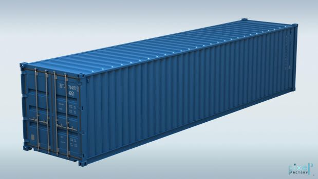 40 Feet Container by Pixel3Factory