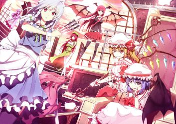 Touhou : Scarlet Devil Mansion by Riki-to