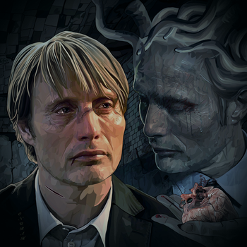 Lucas and Hannibal by OnurahArt