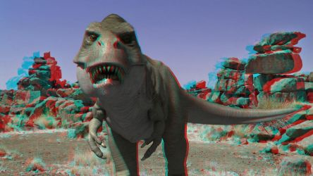 T-REX by 3D-Stereoimage