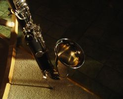 bass clarinet - 1 by Death-by-Clarinet