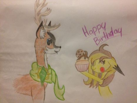 Happy Birthday Tyandaga by TheEasterArt