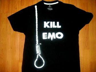 Kill Emo T-shirt by LiveFast