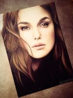 Keira Knightley by thefrenchberet