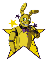 Spring Bonnie by dompteuseArtist
