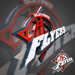 Old Town Flyers 3D Logo by akosidon