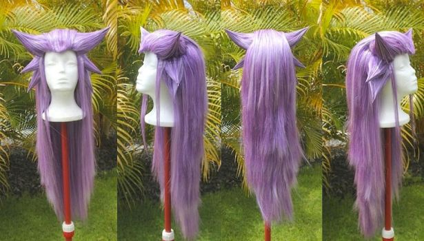 Haunter Gijinka Wig Commission by RHatake