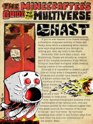 The Minecrafter's Guide to the Multiverse: Ghast by jasonWeek