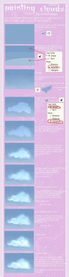 Tutorial. Painting Clouds. by antichange