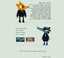 || night in the woods [non-core box code] by T-Chora